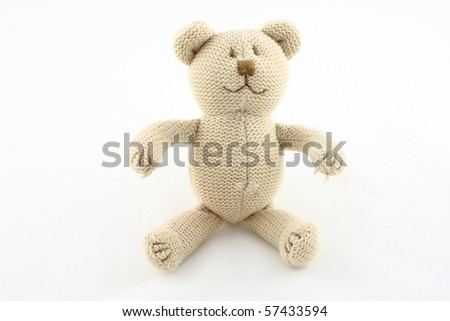 teddy bear isolated