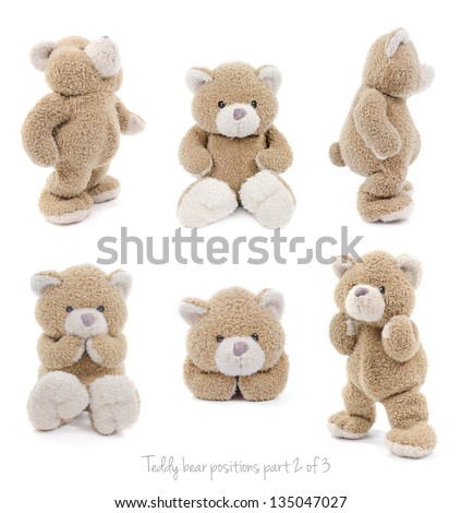 teddy bear set 2 of 3
