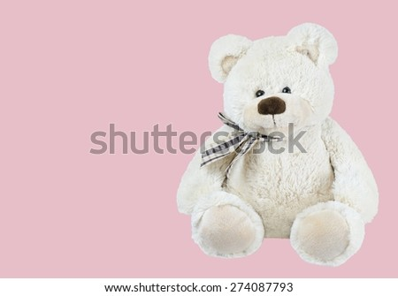 Teddy Bear, Stuffed Animal, Toy.