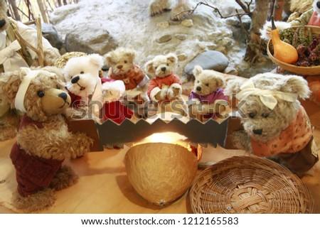 Teddy Bears in Teddy Bear Museum #1212165583