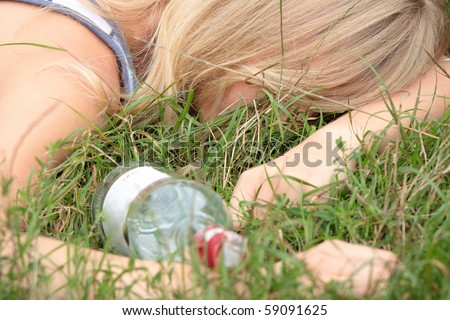 stock photo teen alcohol addiction drunk teen with vodka bottle 59091625 Duane Martin left the side of his pregnant wife, to attend a party for ...