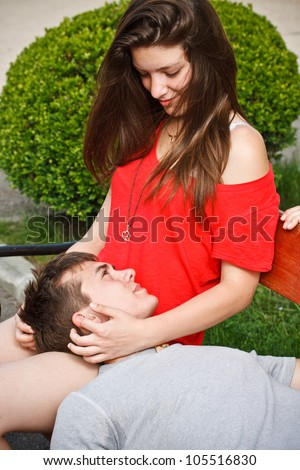 stock photo teen boyfriend lying on his girlfriend s lap 105516830 Related tags: little indian pussy, indian chubby boobs, little indian pussy, ...