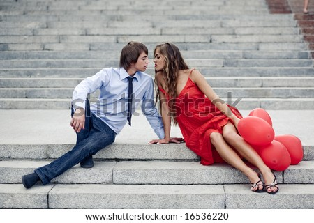 stock photo teen fashion couple kissing sitting on staircase 16536220 In the fall of 2009 a citrus pest called the Asian Citrus Psylid showed up ...