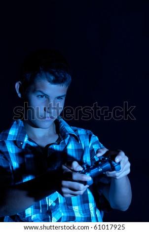 Teen gamer