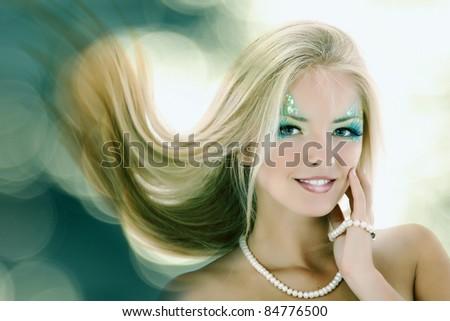 teen girl mermaid beautiful