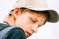 Teenage boy portrait - Cap Ferret, Aquitaine, France