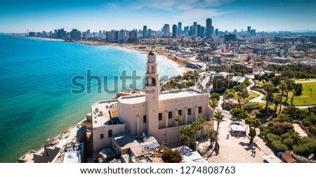 Tel Aviv Jafo Israel Stock fotó ©