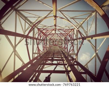 Telecommunication antenna tower #769763221