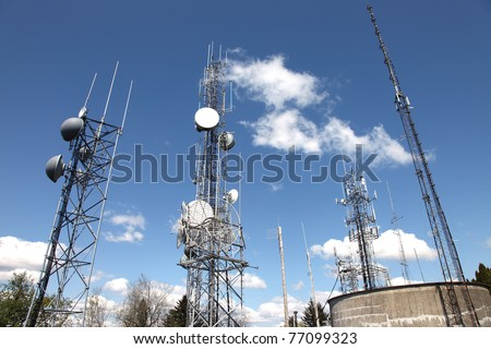 Telecommunication & cell towers technology.