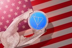 Telegram Gram regulation in USA; gram coin is under pressure; ton blockchain