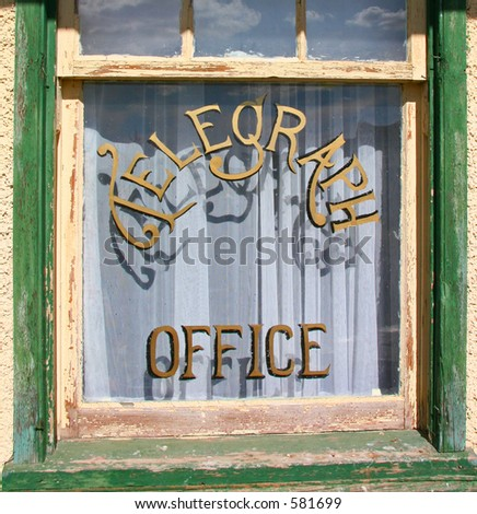Telegraph Office Window