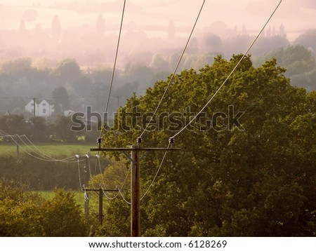 telephone cables and wires