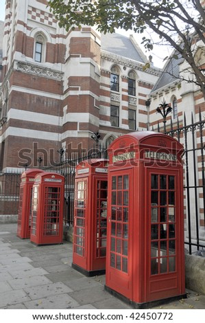Telephone kiosks, London