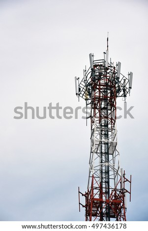 telephone receiver station tower