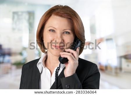 Telephone, Women, Asian Ethnicity.