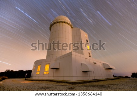 Telescopes under thousand of stars #1358664140