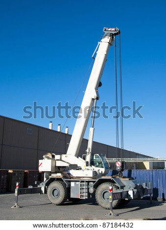telescopic crane all-road