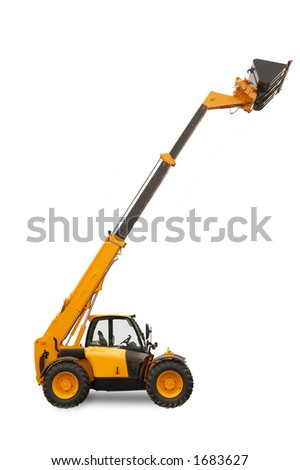 Telescopic Handler - Construction equipment with reach