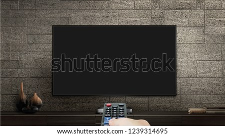 Television Mock Up  #1239314695