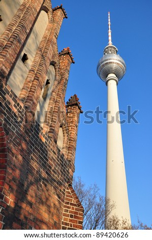 Television tower in Berlin - Germany