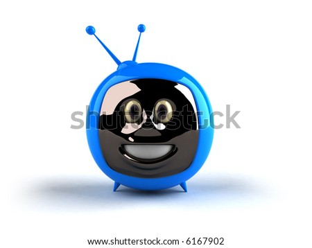Television with a face