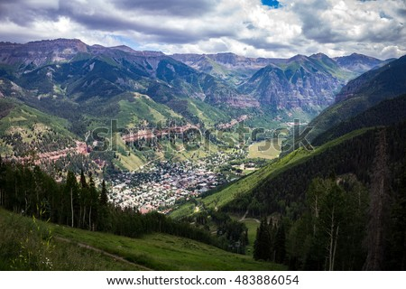 Telluride from the top