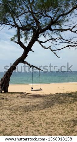 Teluk Bidara Beach Dungun Malaysia nice view and nice place to everybody.