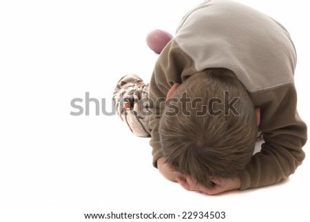 Temper tantrum toddler