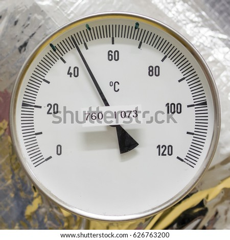 Temperature indicator circular circular. #626763200