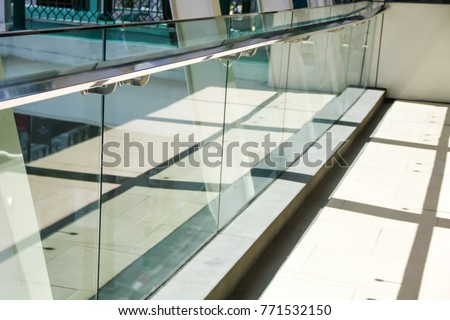 tempered laminated glass railing balustrade panels frame less ,safety glass for modern architectural buildings. #771532150