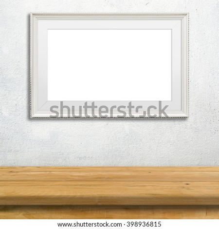 free photos blank paper poster and cement room template avopix com