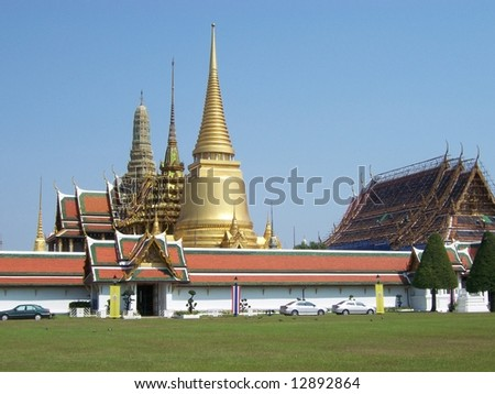 temple at Thai