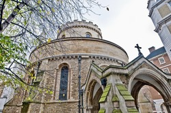 Temple Church located at London, England