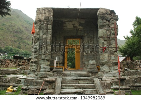 Temple Historical place