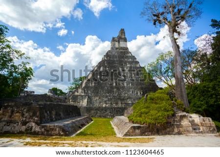 Tikal Temple I - Wikipedia | 320x450