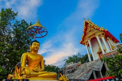 Temple in Khao Kao Seng in Songkhla, Thailand, Asia