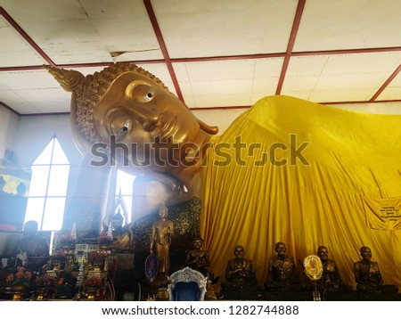Temple in Thailand.budha in Thailand. #1282744888