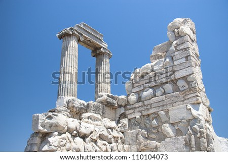 Temple of Apollo in antique city of Didyma