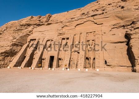 Temple of Nefertari, Abu Simbel, Egypt #418227904