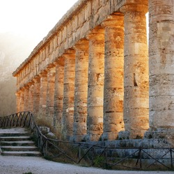 Temple of Segesta side view