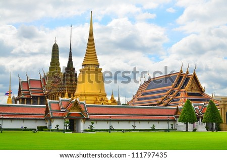 Temple of the Emerald Buddha (Wat Phra Kaew), Bangkok Thailand