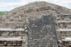 Temple of the Feathered Serpent, Quetzalcoatl, in Teotihuacan, a prehispanic Mesoamerican city located in the Valley of Mexico