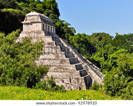 Temple of the Inscriptions - Palenque, Mexico