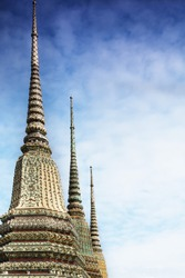 Temple of Wat Po in Bangkok Thailand