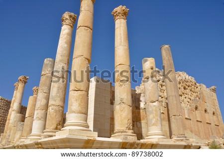 Temple of Zeus, Jerash (Jordan)