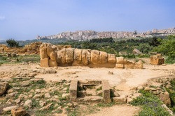 Temple Valley in Agrigento, Sicily, Italy