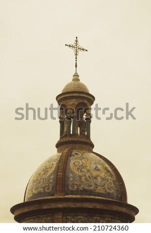 Ten O'Clock In Plaza De Espa\x96a Foto stock ©