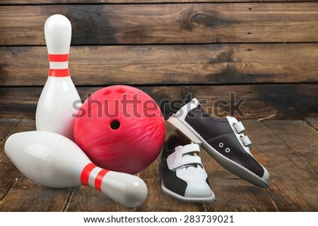 Ten Pin Bowling, Bowling, Bowling Shoe.