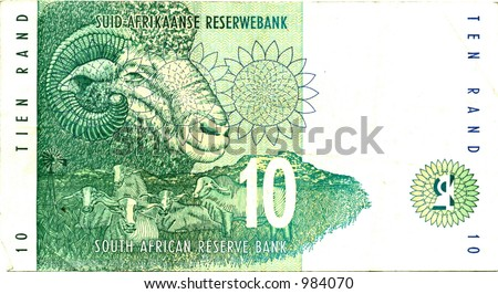 Ten South African Rand