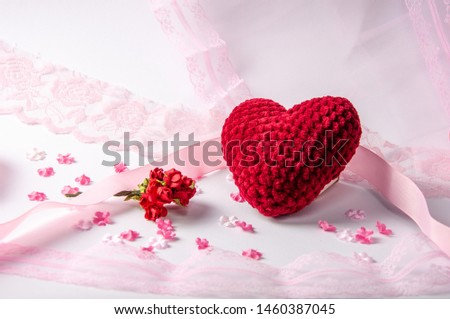 Tender composition of romance and love
